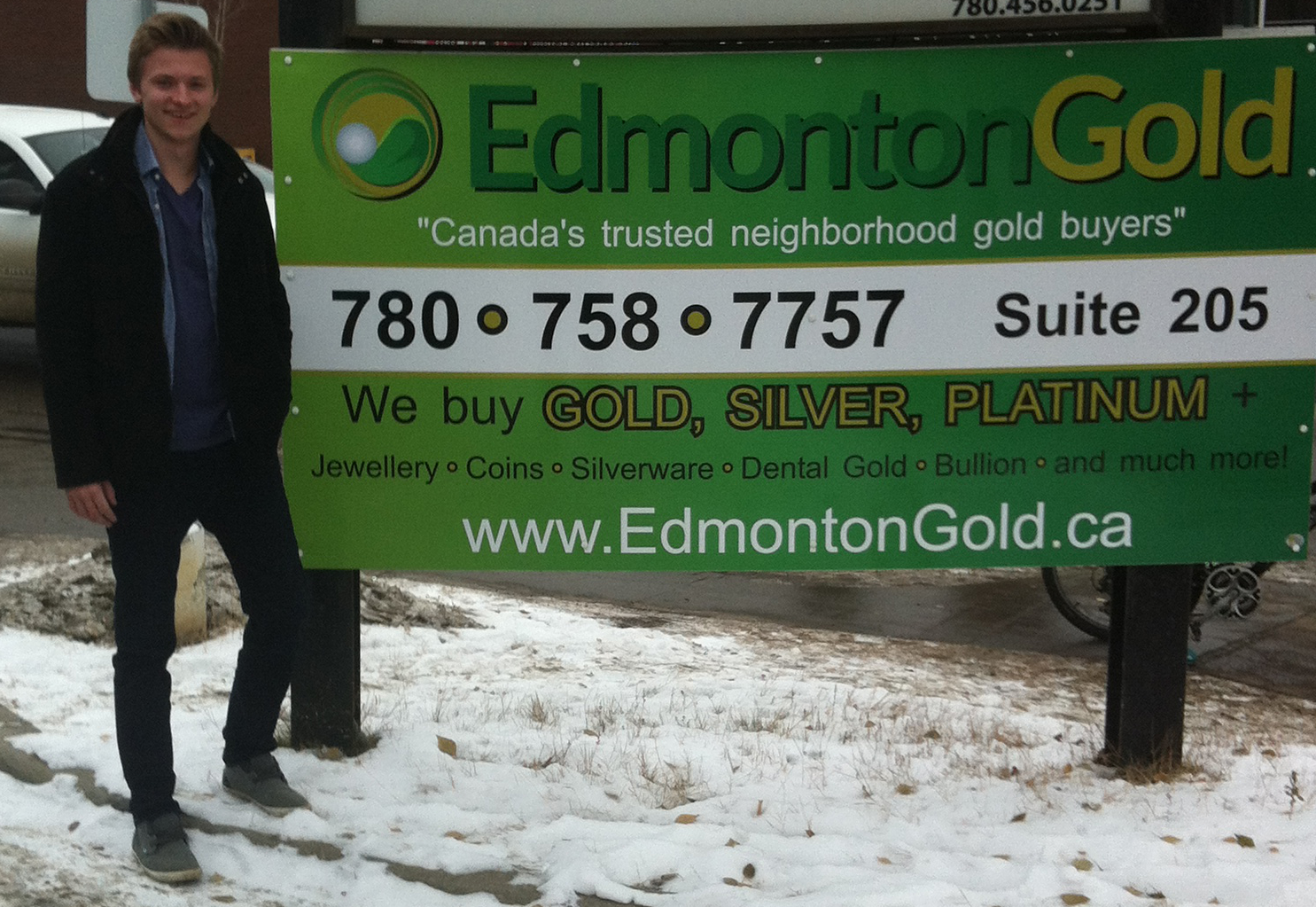 Edmonton Gold manager Chris Gardner